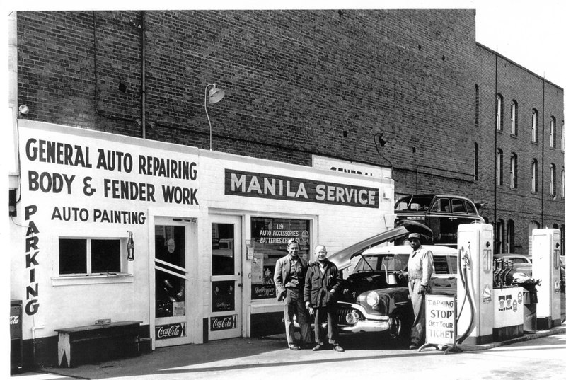 Manila Service Station Exterior